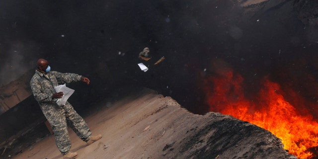 Thousands of U.S. military personnel who served on bases in Iraq and Afghanistan were exposed to the dense black smoke