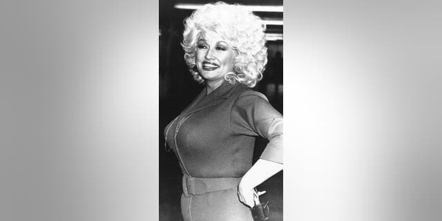 Dolly Parton in 1983.