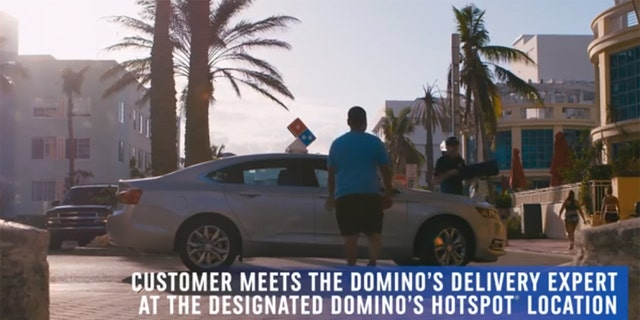 """""""Now customers spending time at some of our new Domino's Hotspots locations, like Tommy Lasorda Field of Dreams in Los Angeles or even next to the James Brown statue in Augusta, Georgia, can have a pizza conveniently delivered to them, thanks to our innovative Domino's Delivery Hotspots,"""" claims Domino's president Russell Weiner."""
