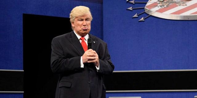 "Alec Baldwin returned to ""SNL"" as Donald Trump on Dec. 3."