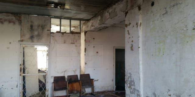 Inside the destruction of industrial-heavy areas in Eastern Ukraine.