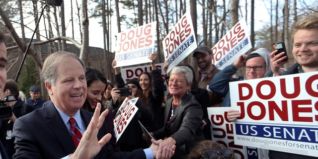 """Alabama Democratic candidate for Senate Doug Jones' campaign said they're """"taking nothing for granted"""" on election day."""