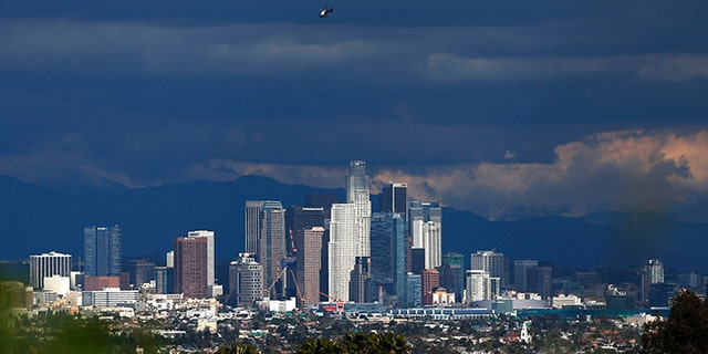 The city of Los Angeles is reportedly considering hiring homeless people to clean up garbage throughout the California city.