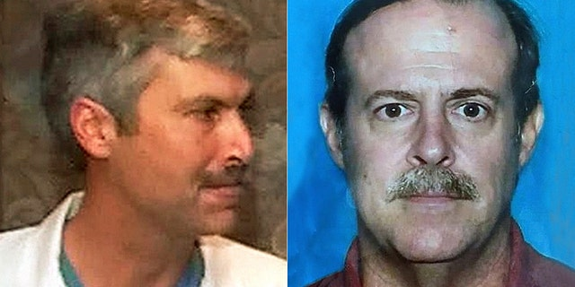 Joseph Pappas, 62, (pictured right) committed suicide on Friday morning after being confronted by two members of the Houston Police Department. He was suspected of shooting dead Houston cardiologist Dr Mark Hausknecht (left)