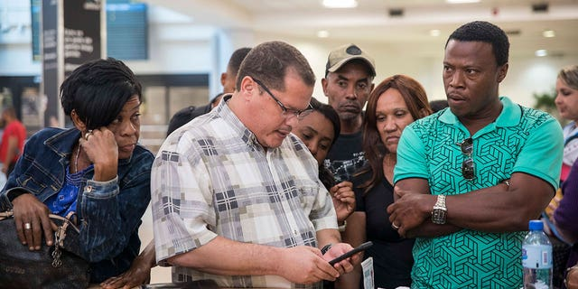 Pawa Dominicana's operations at the Santo Domingo airport were abruptly suspended, leaving hundreds of travelers stranded.