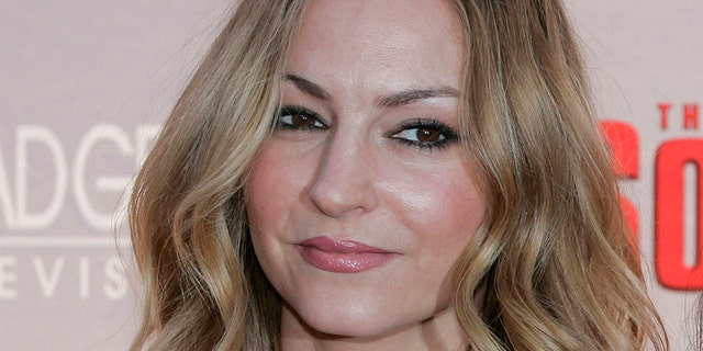 Drea de Matteo is seen at Radio City Music Hall in New York City, March 27, 2007. (Associated Press)