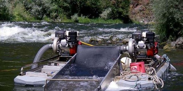 Proponents say the process adds nothing new to the water, and even helps eliminate mercury and lead. (Courtesy: American Mining Rights Association)