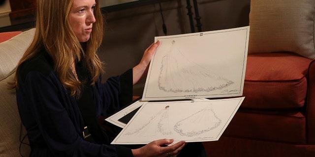 Clare Waight Keller designed Meghan Markle's royal wedding dress.