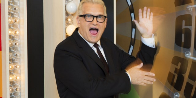 """Drew Carey, host of the """"Price is Right."""""""