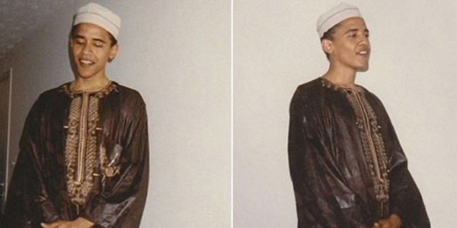 O'Reilly said the photos, taken in the 1990s, underscore Obama's deep ties to Islam.