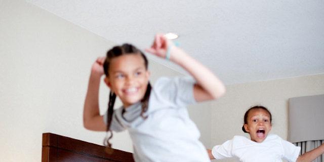 Screaming kids are a surefire way to irritate neighbors in the room next door.