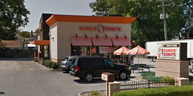Brown said he made the comment Friday while working at the Dunkin' Donuts in Lakewood, Ohio, and woke up on Saturday morning to a call informing him he was fired.