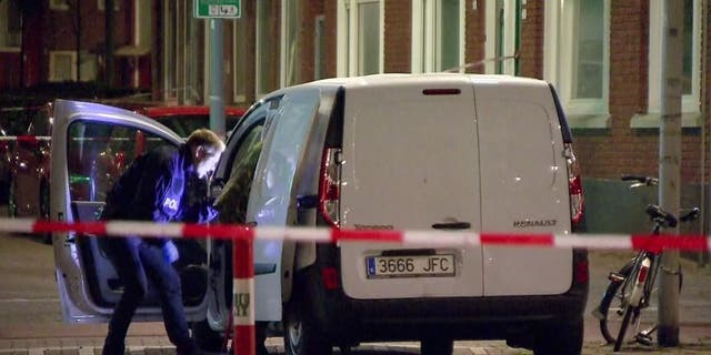 A van driver was detained by police Wednesday after a threat against a concert venue in Rotterdam, Netherlands.