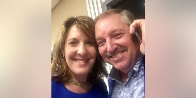 """John Parker (right), a member of the Democratic National Committee, has resigned after referring to African-Americans as """"colored people."""" His decision was influenced by wife Lisa King (left), a Duval County (Fla.) Democratic executive committee chairwoman."""