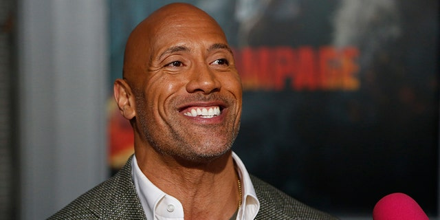 Dwayne Johnson told Fox News he hasn't ruled out a possible political -- or even presidential -- run.