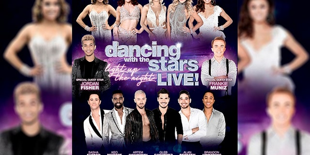 """Cast and crew members on a """"Dancing With the Stars Live!"""" tour bus suffered minor injuries after being involved in a deadly pile-up on Monday."""