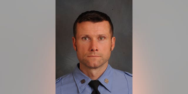 Michael Davidson, 37, was identified as the deceased firefighter.