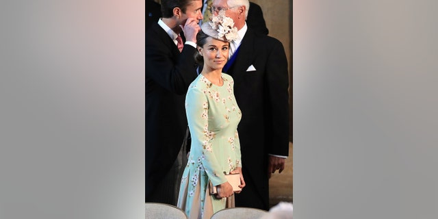 Pippa Middleton's dress was compared to an Arizona green tea can.