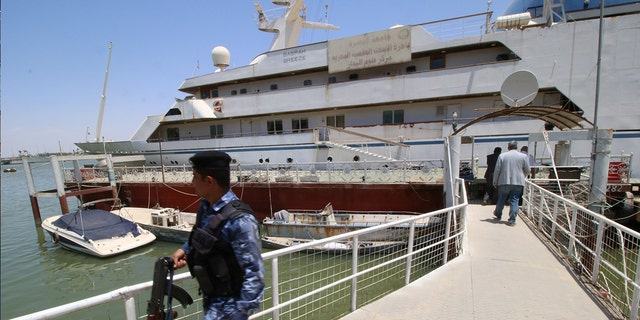 """The """"Basrah Breeze"""" has been moored in the port city since the dictator's 2007 execution, as the company's attempts to sell it failed."""