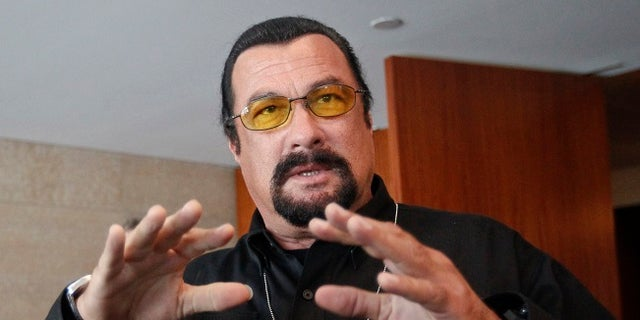 Steven Seagal reportedly asked Julianna Margulies to meet him in his hotel room.