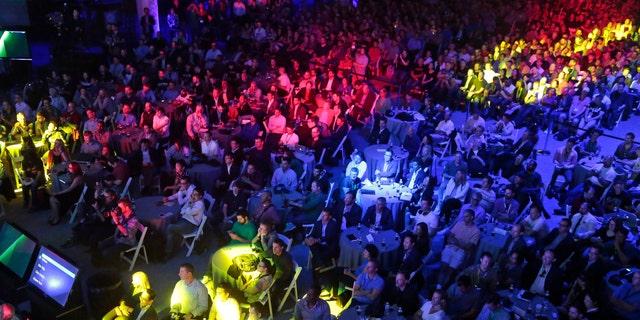 File photo - Electronic Entertainment Expo, June 15, 2015 (AP Photo/Damian Dovarganes, File).