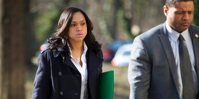 Baltimore State's Attorney Marilyn Mosby in March.
