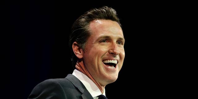 Calif. gubernatorial candidate Gavin Newsom is projected to finish in one of the top spots in the state's jungle primary.