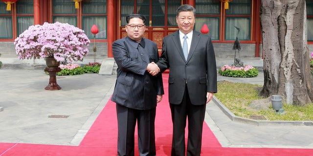 Kim Jong Un met with Xi Jinping in a surprised visit earlier this week.