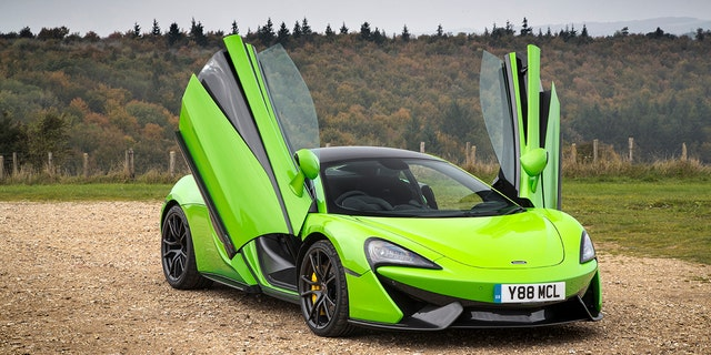 The McLaren 570S was one of the cars being tested the day of the crash.