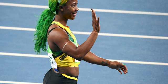 Shelly-Ann Fraser-Pryce made headlines for her stylish neon 'do in 2016.