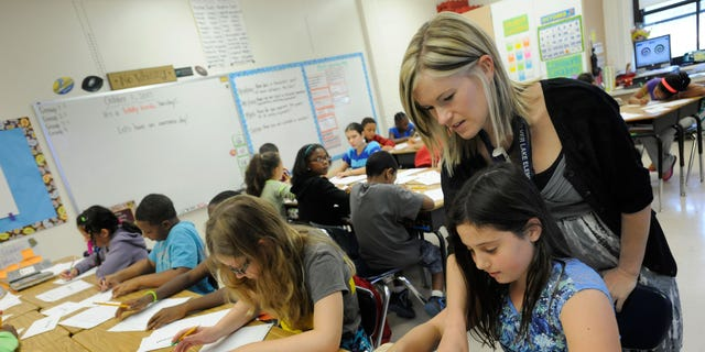 Some 45 states signed on to the Common Core State Standards Initiative, but Indiana has become the first to pull out. (AP Photo/Steve Ruark)