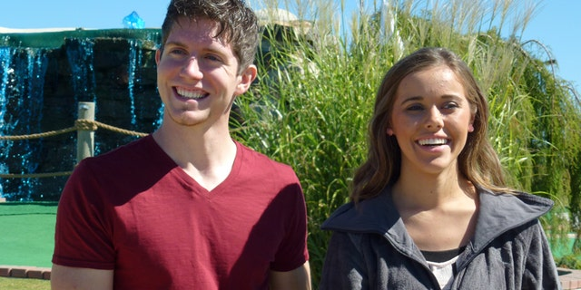 """Ben Seewald (left) and Jessa Duggar on TLC's """"19 Kids and Counting."""" The couple shared a statement regarding her brother, Josh, and the recent charges against him."""