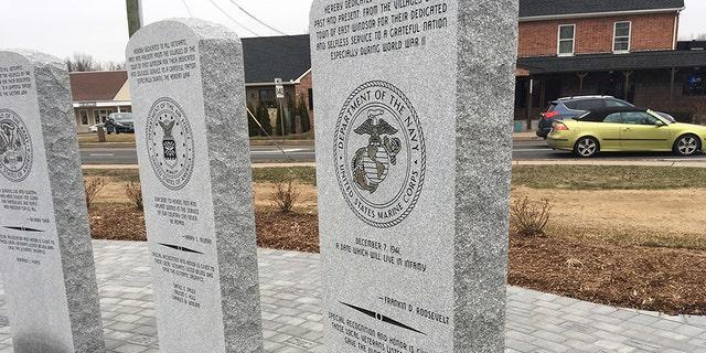 East Windsor Veterans Commission raised funds for a new veterans memorial.