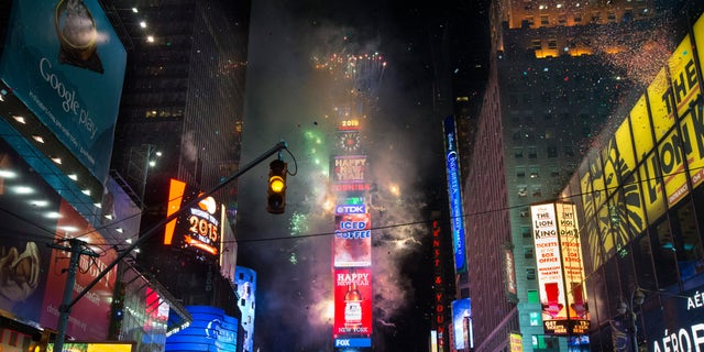 The evening's events typically include musical performances and the iconic ball drop to signify the new year. (Associated Press)