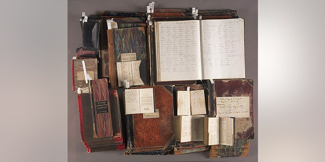 Papers of Thomas T. Eckert (1862–1877), an extensive and extraordinarily rare collection of nearly 16,000 Civil War telegrams. (The Huntington Library, Art Collections, and Botanical Gardens.)