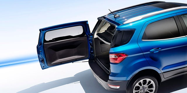 All Ford Ecosport Models Feature Swing Gate Style Tailgate