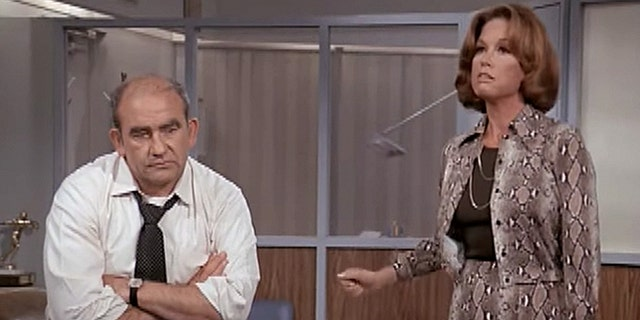 """Ed Asner was also confident about """"The Mary Tyler Moore"""" show."""