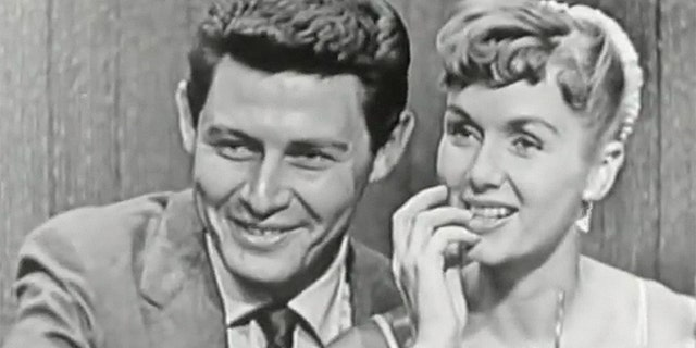 Debbie Reynolds and then-husband Eddie Fisher.
