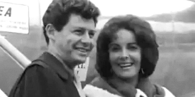 Eddie Fisher and Elizabeth Taylor
