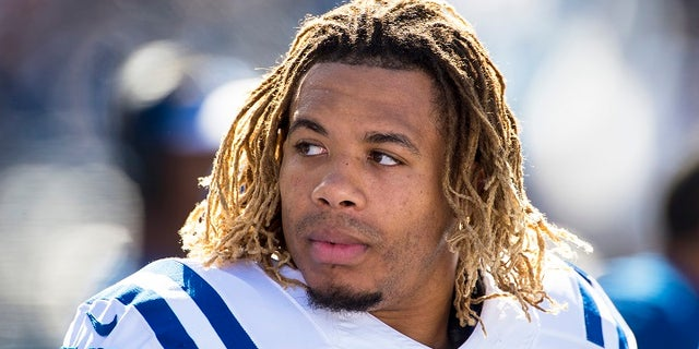 Edwin Jackson grew up in Atlanta and started eight games for the Colts during the 2016 season, finishing third on the team with 61 tackles.