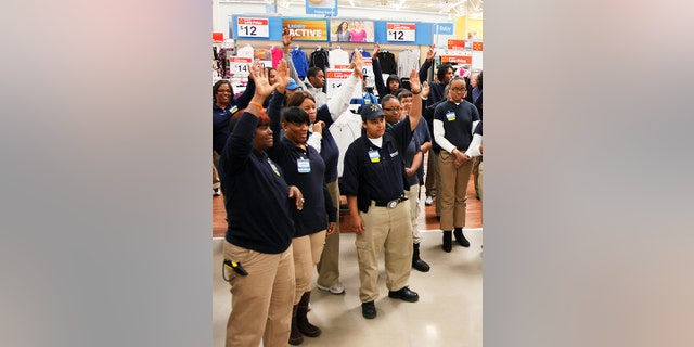 Walmart Employee Halloween Costume.Walmart Testing New Dress Code For In Store Employees Fox News