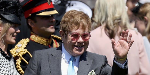 Elton John was also pranked by the same Russian callers.