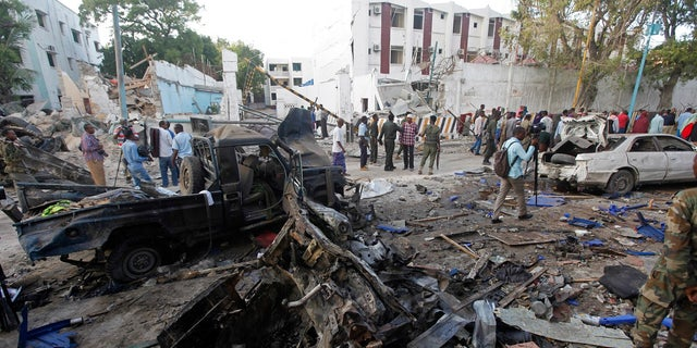 Lat month's massive truck bombing in Mogadishu killed more than 350 people. Al-Shabaab was blamed for the attack.