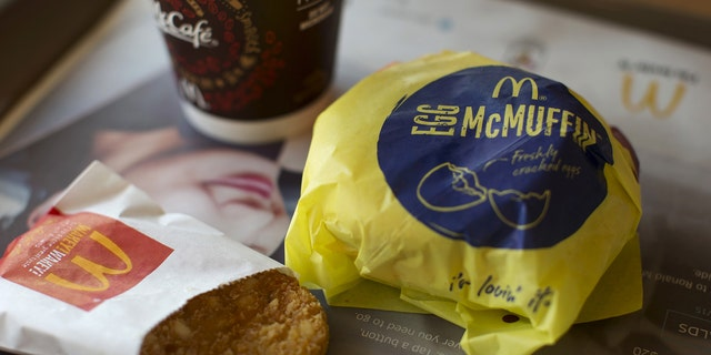 An Egg McMuffin meal is pictured at a McDonald's restaurant in Encinitas, California August 13, 2015.
