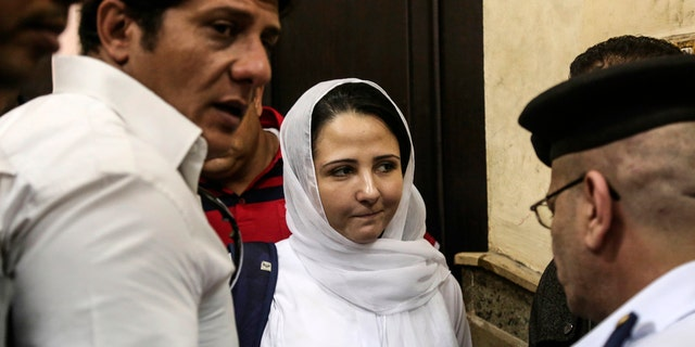 Aya Hijazi in Egypt.