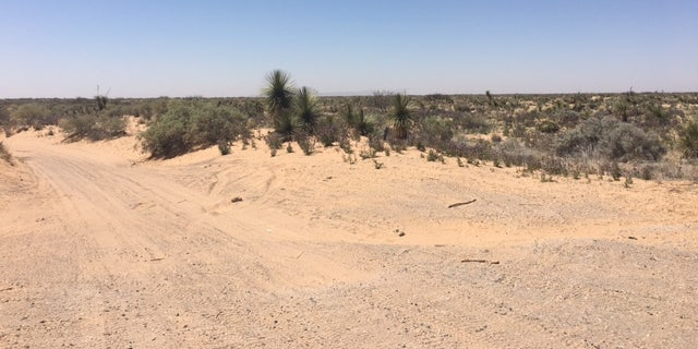 The southern border can reach well over 100 degrees during the summer. There's also dangers of rattle snakes and other predatory animals.