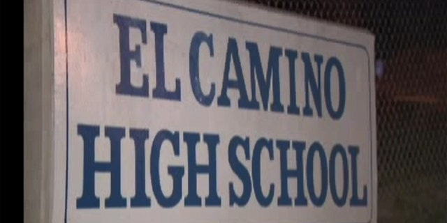 "El Camino High School in Whittier, Calif., where authorities say a ""disgruntled student"" planned a mass shooting."