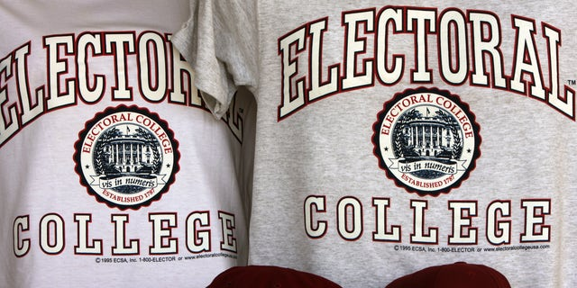 The Electoral College meets every december, but it doesn't have a football team.