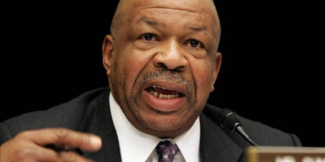 Rep. Elijah Cummings, the top Democrat on the House Oversight and Government Reform Committee, held a forum Thursday on how the illegal flow of guns from America into Mexico undermines ATF's mission. (AP)