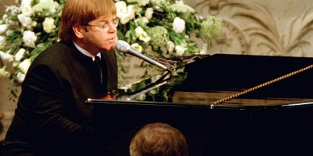 """Elton John performed """"Candle in the Wind"""" at Princess Diana's funeral."""